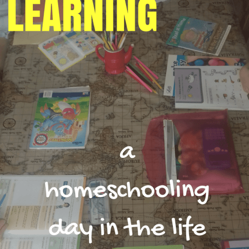 Always Learning - a homeschooling day in the life featured on Fearless Homeschool.