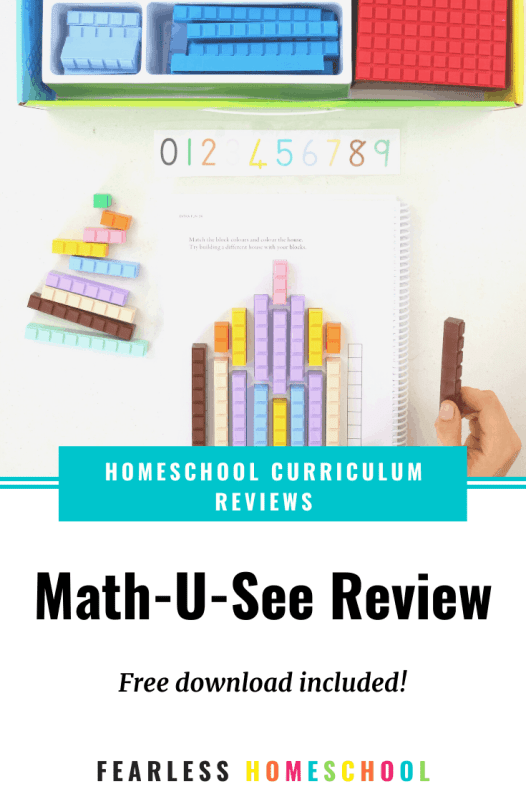 Math-U-See review - Australian Homeschooling Maths Curriculum