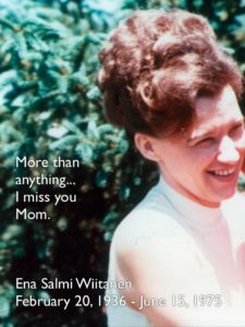 More than anything...I miss you Mom.
