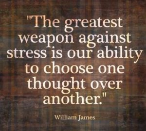 The Greates Weapon Against Stress