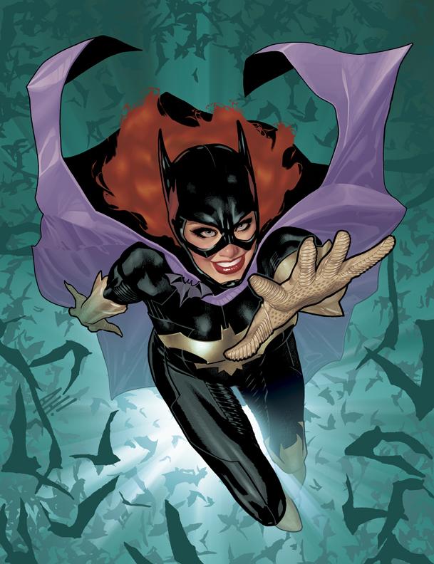 Batgirl Gail Simone Adam Hughes