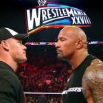Rock and John Cena