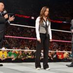 WWE Raw Paul Heyman AJ Lee Vince McMahon