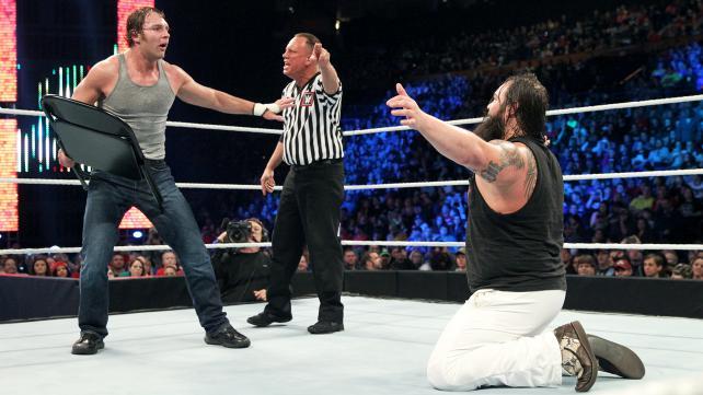 Dean Ambrose vs Bray Wyatt