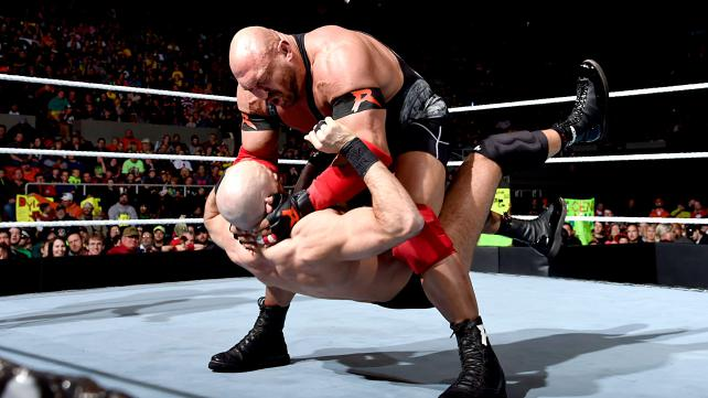 WWE Ryback vs Cesaro