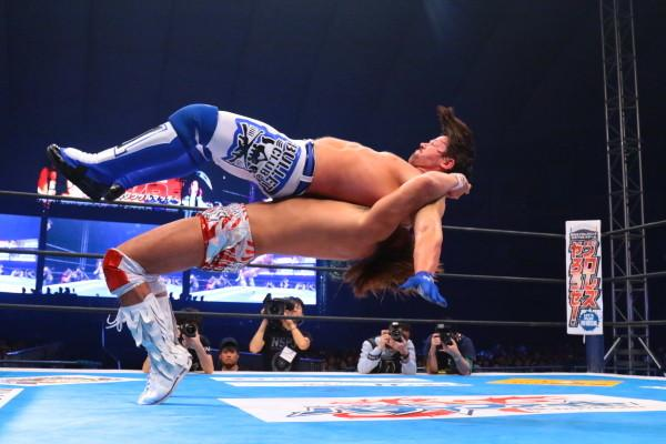 AJ Styles vs Tetsua Nito NJPW Wrestle Kingdom 9 01