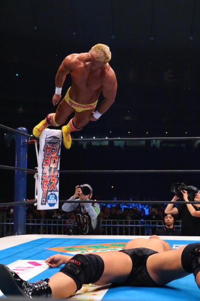 Honma NJPW Wrestle Kingdom 9