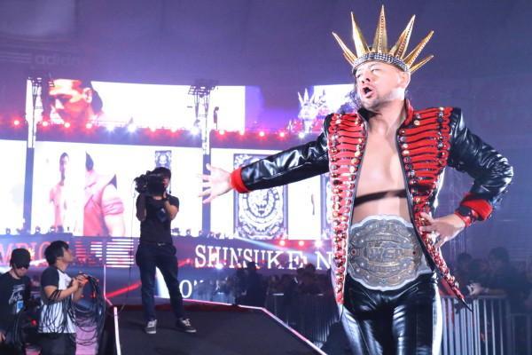 Shinsuke Nakamura Wrestle Kingdom 9