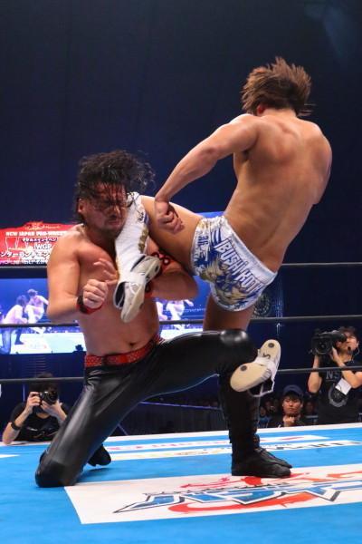 Shinsuke Nakamura vs Kota Ibushi NJPW WK 0 04