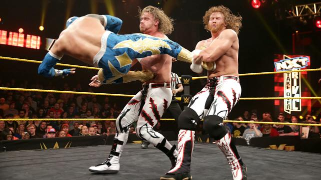NXT Takeover Rival Team Thick Lucha Dragons