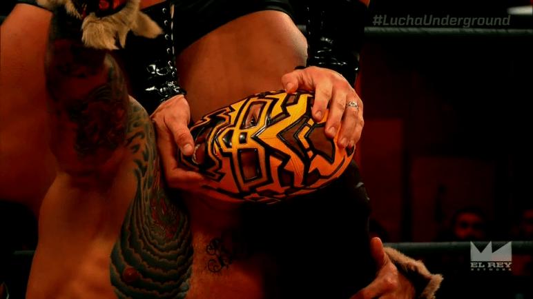Lucha Underground Prince Puma vs Cage