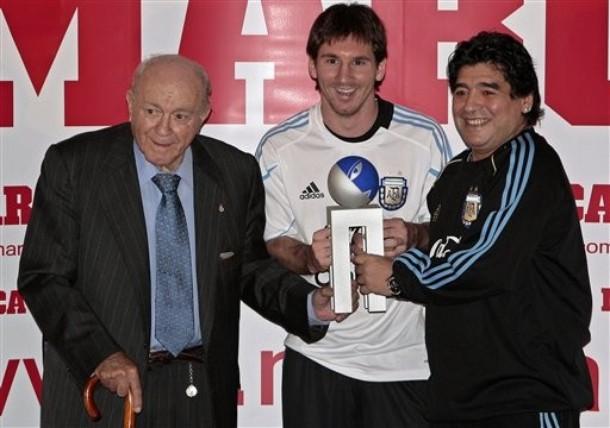 Spain Soccer Di Stefano Trophy