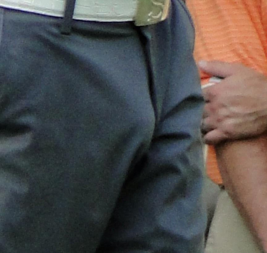 Sergio Garcia has a huge bulge... (4/5)
