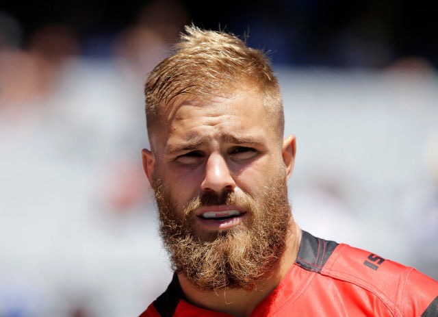 Blondes Fearsome Beard