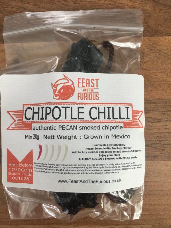 Chipotle Morita Pecan Smoked Chilli Whole