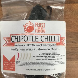 Chipotle Morita Pecan Smoked Chilli Whole