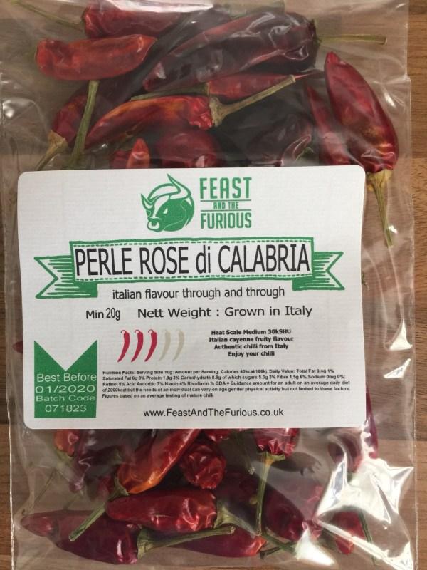 Perle Rose di Calabria Chilli
