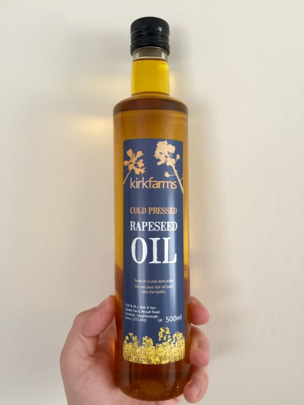 Cold Pressed Rapeseed Oil - 500ml Kirk Farms