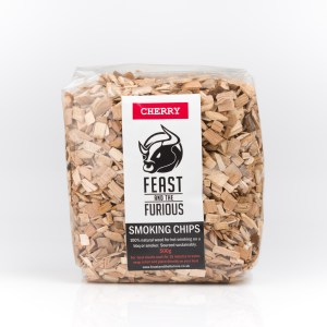 Hot smoking wood chips - Cherry