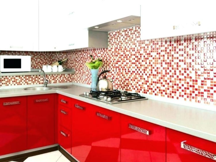 8 Hilarious Red Color Designs to Revolutionize Your Simple Kitchen
