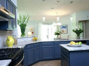 Bright & Calming Kitchen: 10 Prime Blue Kitchen Ideas