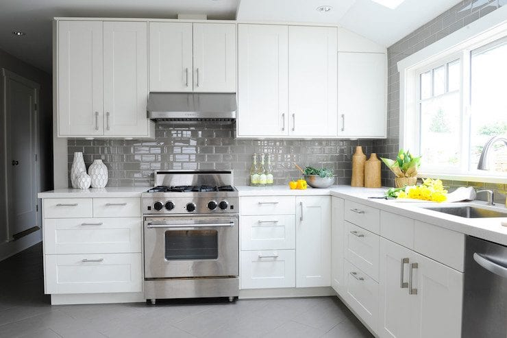 17 grey kitchen backsplash ideas that
