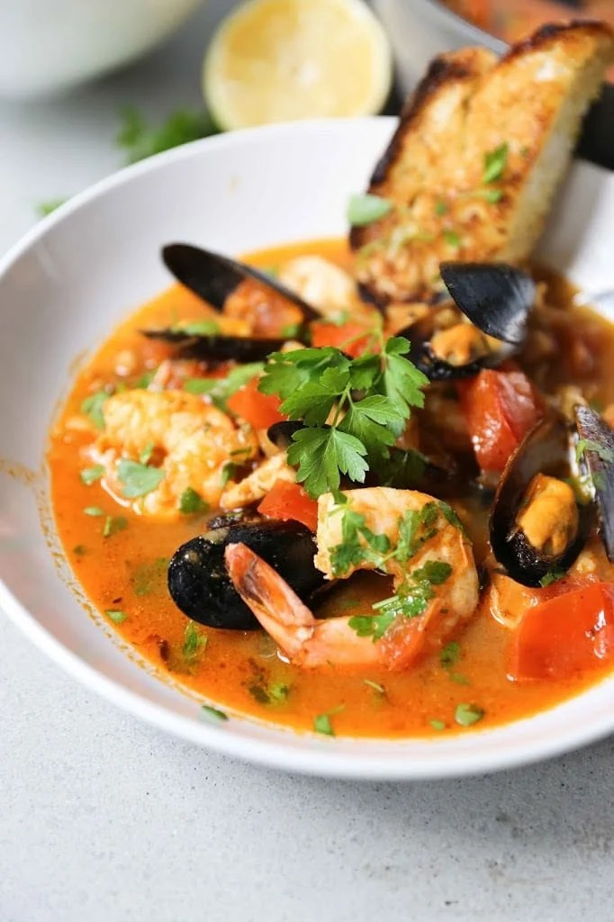 Summer Seafood Stew Feasting At Home