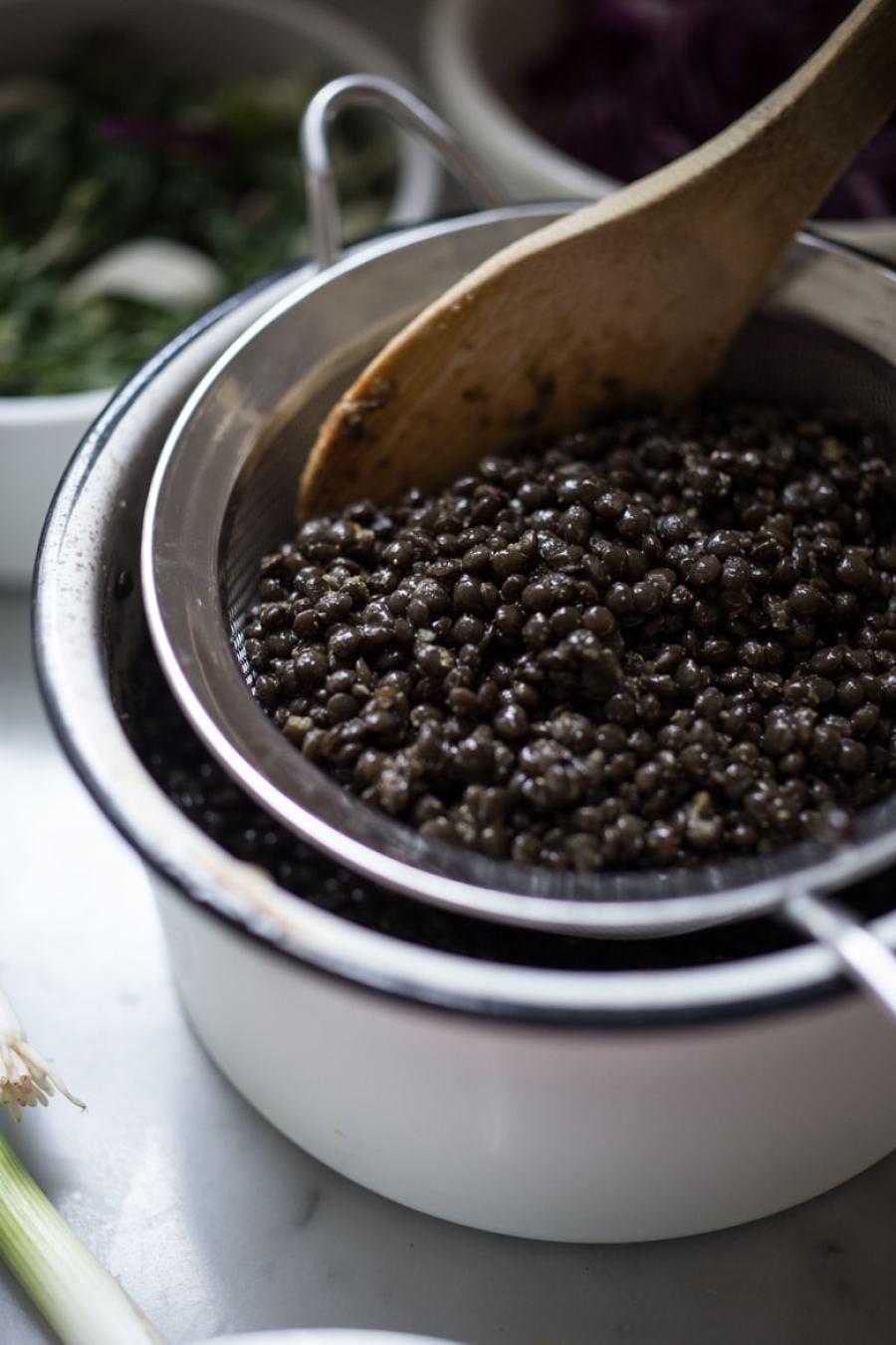 Spicy Lentil Wraps With Tahini Sauce Recipe — Dishmaps