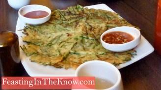 Garlic chive pancake
