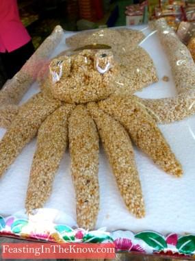 Oversized sesame octopus