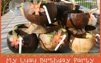 My Luau Birthday Party