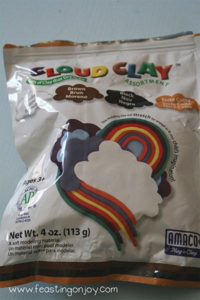 Cloud Clay For Ocean Box