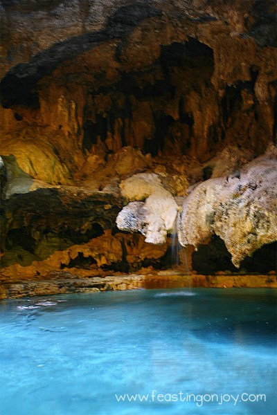 Cave and Basin Hot Springs Interior