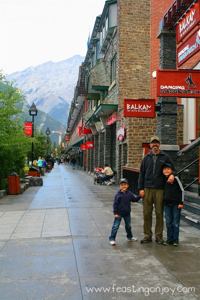 The guys in Banff