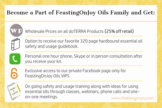What You Get When You Join FeastingOnJoy Oils Family | Feasting On Joy