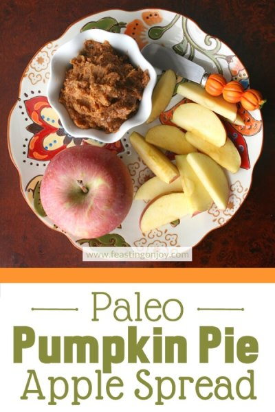 Paleo Pumpkin Apple Spread | Feasting On Joy