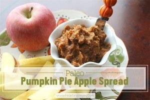 Paleo Pumpkin Pie Apple Spread