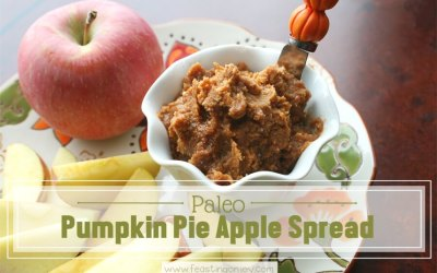 Paleo Pumpkin Pie Apple Spread