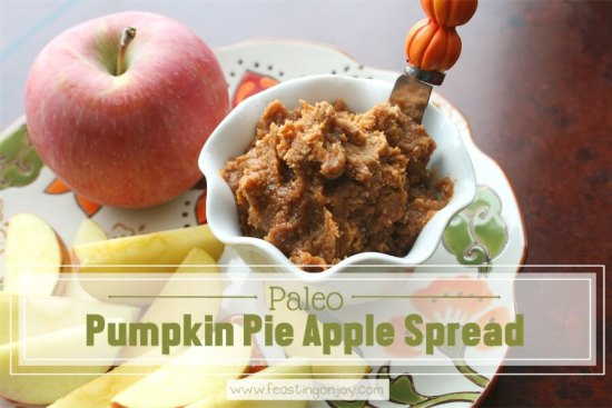 Paleo Pumpkin Apple Spread 1 | Feasting On Joy
