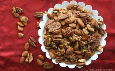 Nani's Paleo Spiced Nuts