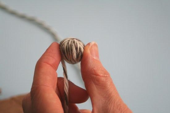 Step-by-Step DIY Dryer Ball Tutorial 9 | Feasting On Joy