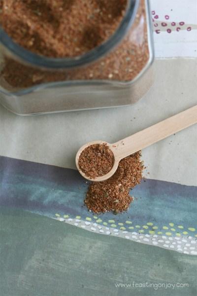 Organic Gluten, Dairy, Sugar Free Bulk Taco Seasoning 5   Feasting On Joy