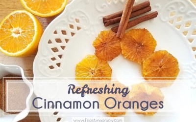 Refreshing Cinnamon Oranges