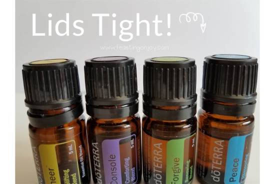 7 Tips to Travel Smart with Your Essential Oils 8 | Feasting On Joy