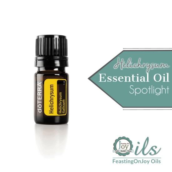 Essential Oil Spotlight: Helichrysum I | Feasting On Joy