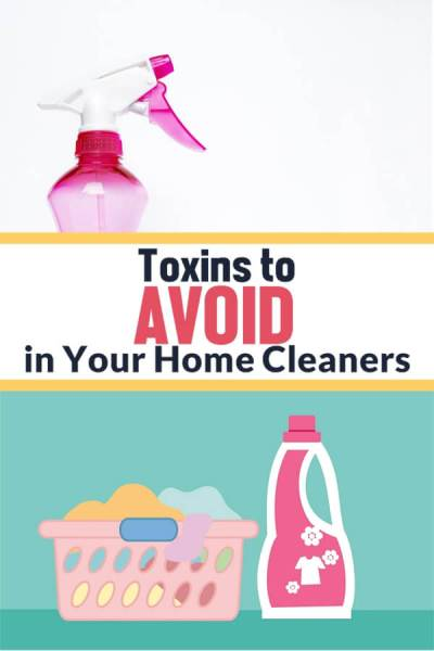 Toxins to Avoid in Your Home Cleaners | Feasting On Joy