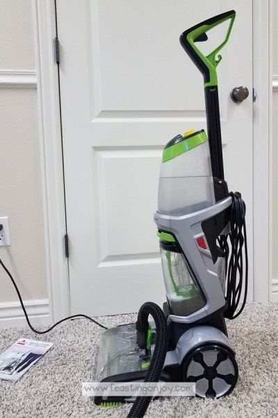 Healthy DIY Carpet Cleaning { With a Machine} 6 | Feasting On Joy