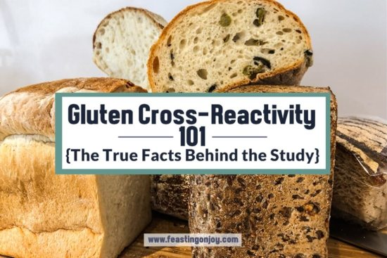 Gluten Cross-Reactivity 101 {The True Facts Behind the Study} 1 | Feasting On Joy