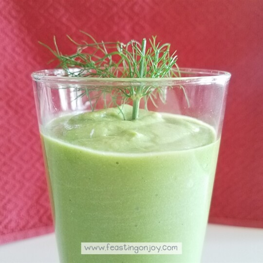 Green Glory Protein Smoothie 4 | Feasting On Joy