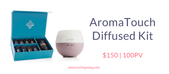 Buy doTERRA Essential Oils AromaTouch Diffused Kit | FeastingOnJoy Oils